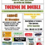 Tennis de table : tournoi de Double pour le Téléthon