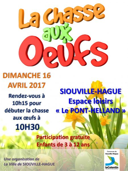 affiche chasse aux oeufs 2017