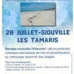 Sensibilisation autour des déchets naturels marins le 28 juillet