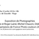 Exposition de photographies du 21 au 29/07/2018