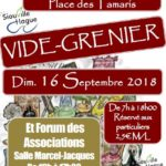 Vide grenier de septembre ET forum des associations