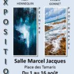 Exposition de peintures et photographies du 1er au 16 août
