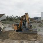 Il s'agit de renforcer la dune devant le centre Korian