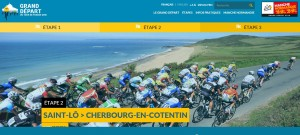tour de France Port Diélette