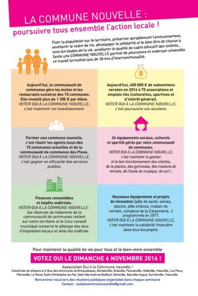 Ecoles, impôts, cadre de vie, développement du territoire... les enjeux